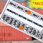 Kontejner 12 metrů 40 DV 40 HC s CSC certifikací