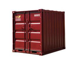 Přední část přepravního kontejneru 3m 10ft